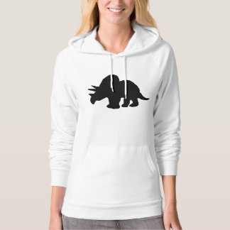 Triceratops Silhouette Hoody
