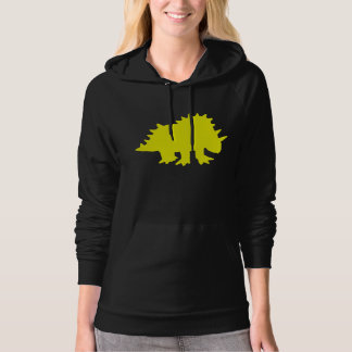 Triceratops Silhouette (Yellow) Pullover