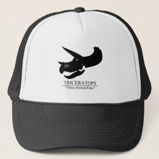 Triceratops Skull Trucker Hat