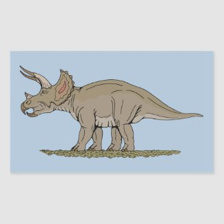 Triceratops Stickers