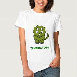 Triceratops Tee Shirt