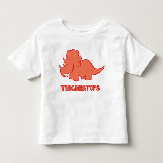 Triceratops Toddler T-shirt