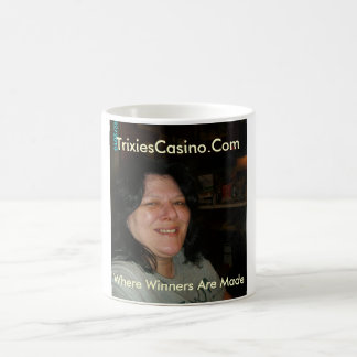 Tricia and Prince 023, TrixiesCasino.Com, Where... Classic White Coffee Mug