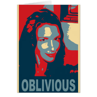 tricia the oblivious card