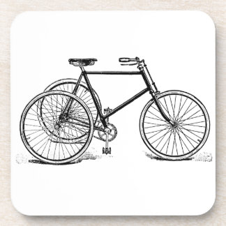 Triciclo antiguo del vintage posavasos