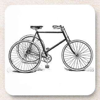 Triciclo antiguo posavaso