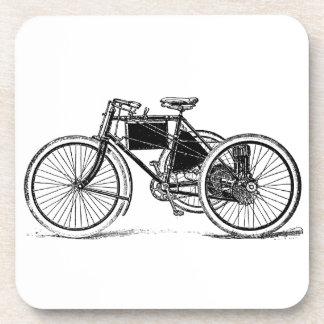 Triciclo del vintage posavasos de bebidas