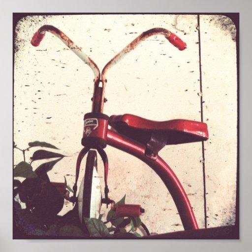 Triciclo del vintage posters