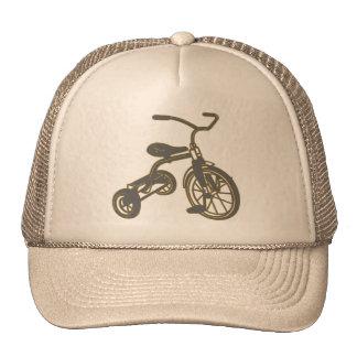 Triciclo gris gorros bordados