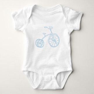 Triciclo lindo de los azules cielos del vintage body para bebé