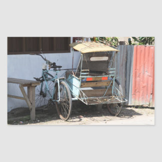 Triciclo Rectangular Altavoz
