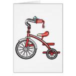 triciclo retro felicitación