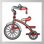 triciclo retro impresiones