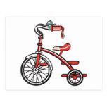 triciclo retro postal