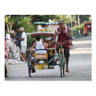 Triciclo Tarjeta Postal