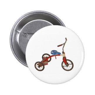 Triciclo viejo pin redondo 5 cm
