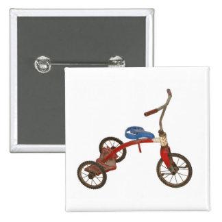 Triciclo viejo pin cuadrada 5 cm