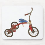 Triciclo viejo tapetes de raton