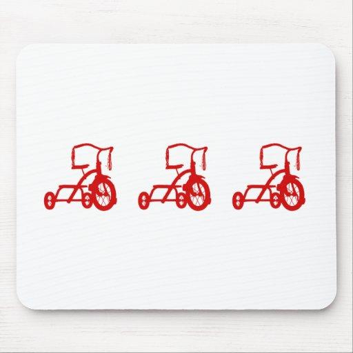 triciclos alfombrilla de ratones