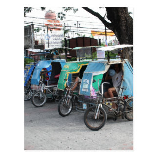 Triciclos Tarjeta Postal