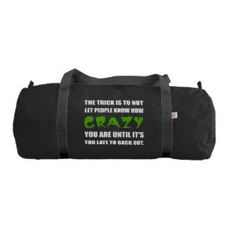 Trick Crazy Back Out Gym Bag