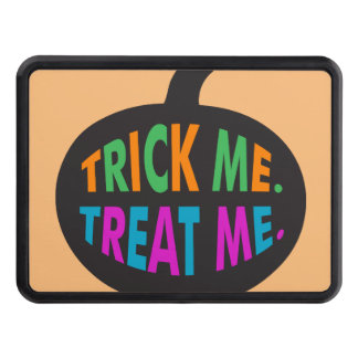 Trick Me Treat Me Multi-Color Hitch Cover