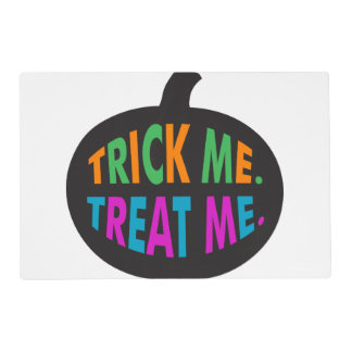Trick Me Treat Me, Multi-Color Placemat