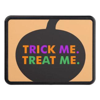 Trick Me Treat Me Multi-Colors Trailer Hitch Cover