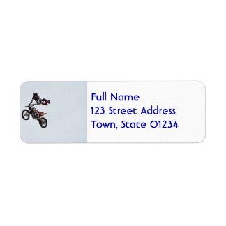 Trick Motocross Labels