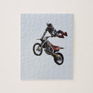 Trick Motocross Puzzle