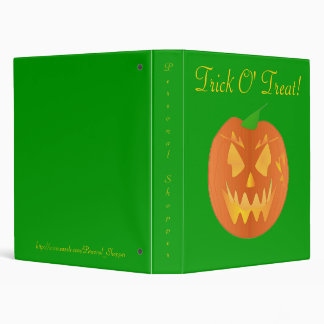Trick O' Treat In Green IV Binder