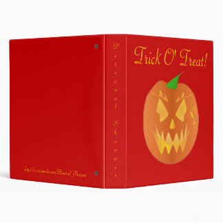 Trick O' Treat In Red IV Binder