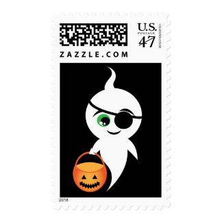 Trick Or Boo Postage