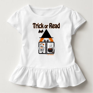 Trick or Read. Happy Halloween! Toddler T-shirt