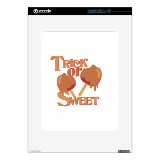 Trick Or Sweet Decals For iPad
