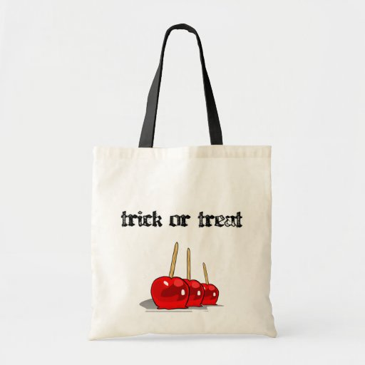 Trick or Treat 3 Red Candy Apples Bag