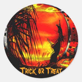 Trick or Treat #3_ Sticker