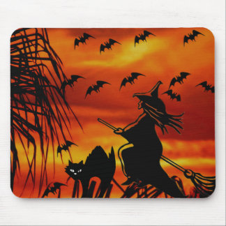 Trick or Treat #4_ Mouse Pad