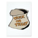 "Trick Or Treat 5"" X 7"" Invitation Card"