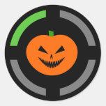 Trick or Treat - Achievement Unlocked Round Sticker