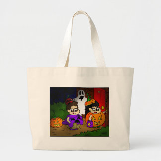 Trick or treat tote bags