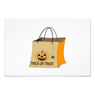 Trick or treat bag clipart photo