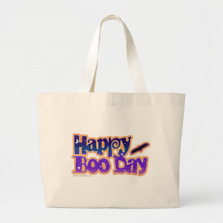 Trick or Treat Bag - HAPPY BOO DAY - Halloween