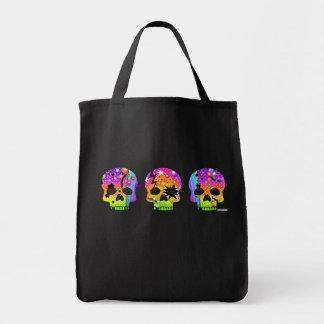 Trick or Treat Bag - POP ART SKULLS