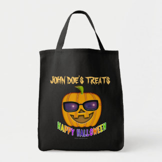 Trick or Treat Bags - Cool JACK O'Lantern