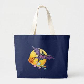 Trick or Treat Bat Large Tote Bag