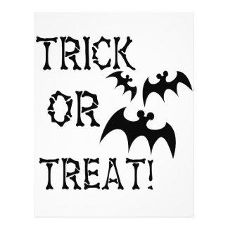 Trick or Treat Bats! Full Color Flyer