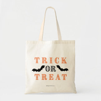 Trick Or Treat- Bats Tote Bag