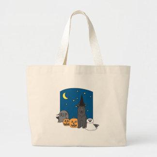 Trick or Treat Belgian Halloween Tote Bags