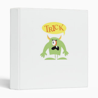 Trick or Treat Binder